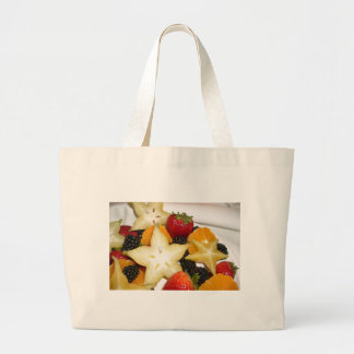 Fresh Fruit Themed Tote Bag