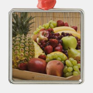 Fresh fruits christmas ornament
