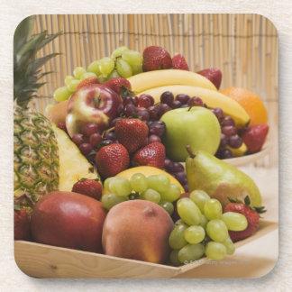 Fresh fruits coaster