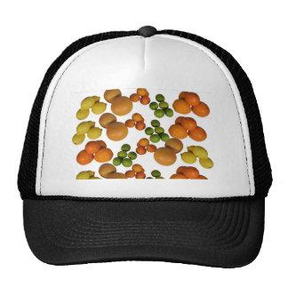fresh fruits trucker hat
