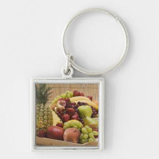 Fresh fruits key ring