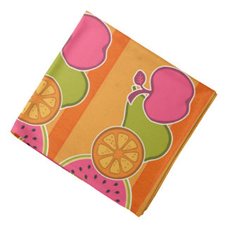 Fresh Fruits Orange Kerchiefs