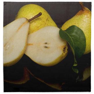 Fresh Green Pears Fruit Napkin