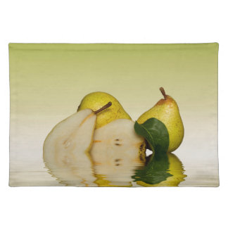 Fresh Green Pears Fruit Placemat