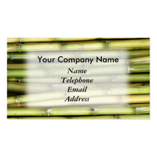 Fresh Green Sugar Cane - Juice Theme Pack Of Standard Business Cards