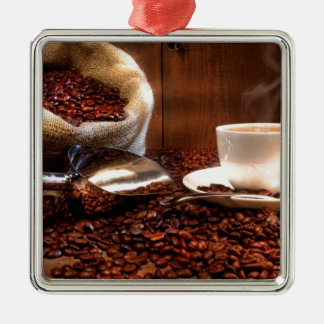 Fresh Ground Coffee Christmas Ornament