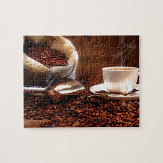 Fresh Ground Coffee Jigsaw Puzzle
