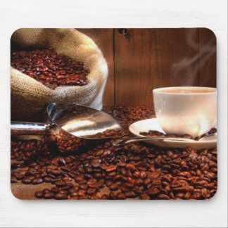 Fresh Ground Coffee Mouse Pad