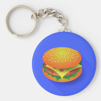 Fresh Hamburger Keychain