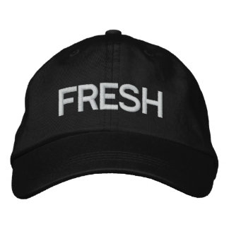 FRESH Hat Embroidered Hat