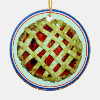 fresh homemade pie ornament