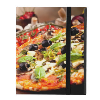 Fresh Italian pizza iPad Case