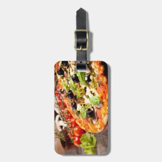 Fresh Italian pizza Luggage Tag