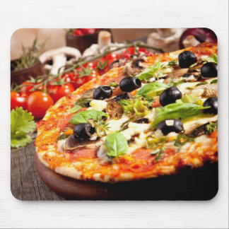 Fresh Italian pizza Mouse Mat