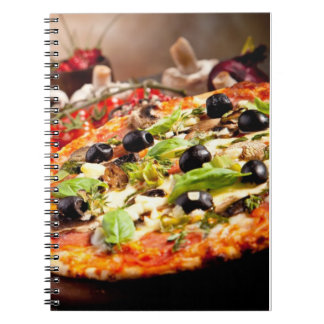 Fresh Italian pizza Notebook