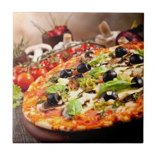 Fresh Italian pizza Tile