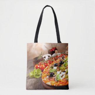 Fresh Italian pizza Tote Bag