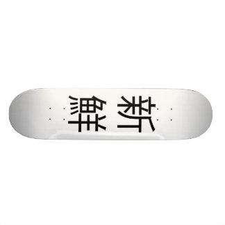 Fresh kanji deck skate board decks