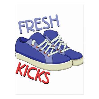 Fresh Kicks Postcard
