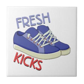 Fresh Kicks Small Square Tile