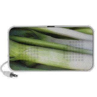 Fresh leeks iPhone speakers