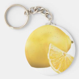 Fresh Lemon Key Chains