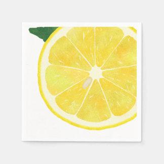 Fresh Lemon Paper Napkin