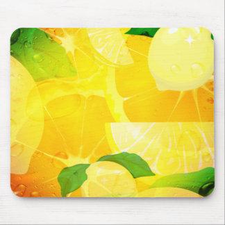 Fresh Lemons Mousepad