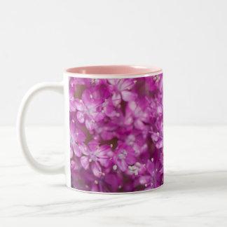 Fresh lilac flowers Two-Tone coffee mug