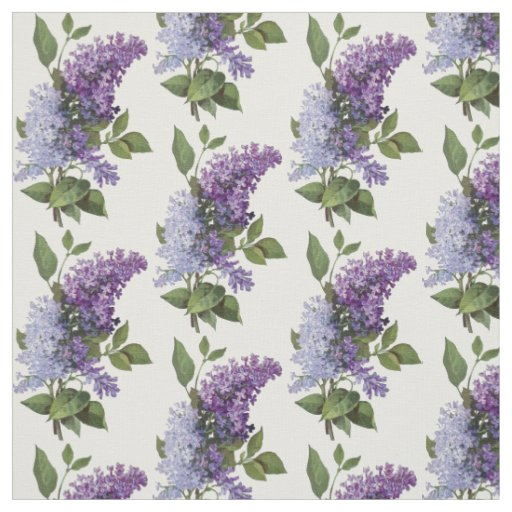 Fresh Lilacs - French Country Home Decor Fabric