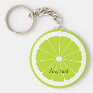 Fresh Lime Theme Keychains
