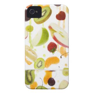 Fresh mixed fruit with apple & orange juice Case-Mate iPhone 4 case