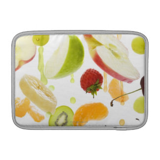 Fresh mixed fruit with apple & orange juice sleeve for MacBook air
