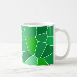 Fresh modern organic pattern basic white mug