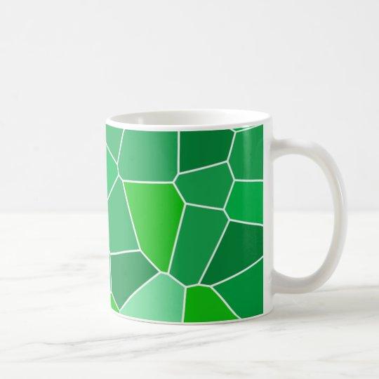 Fresh modern organic pattern coffee mug