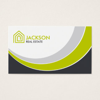Fresh Modern Realty Business Card