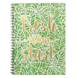 Fresh New Start Notebook