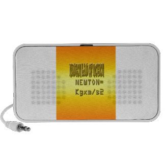 Fresh newton law of motion iPhone speakers