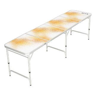 Fresh Orange Spray Beer Pong Table