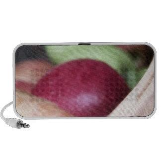Fresh Organic Apples Laptop Speakers