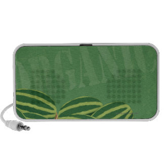 Fresh Organic Melons iPhone Speakers