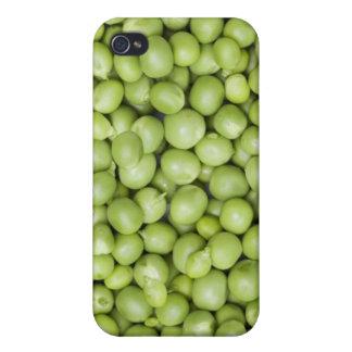 Fresh organic peas 2 cases for iPhone 4