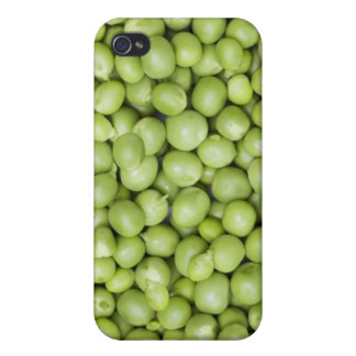 Fresh organic peas 2 cover for iPhone 4