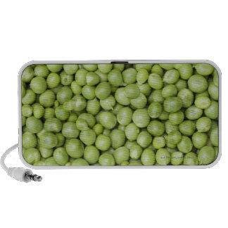 Fresh organic peas 2 portable speaker