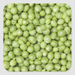 Fresh organic peas 2 sticker