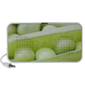 Fresh organic peas iPod speaker