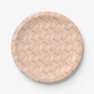 Fresh paint paper plate