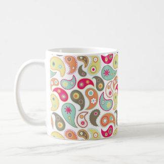 Fresh paisley mug