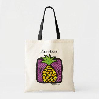 Fresh Pineapple. Budget Tote Bag