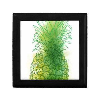 Fresh pineapple gift box